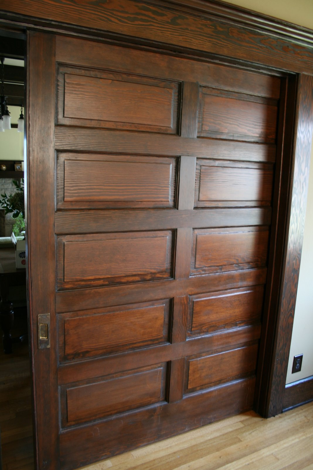 Antique pocket doors for sale antique furniture for Oversized exterior doors for sale